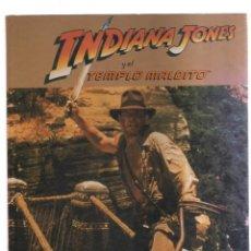 Tebeos: INDIANA JONE Y EL TEMPLO MALDITO EL LIBRO DE LA PELICULA. Lote 221902865