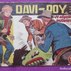 Tebeos: TEBEO DAVI-ROY SE ALQUILA UN PISTOLERO Nº 13 ED. CREO ORIGINAL. Lote 221907473