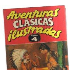 Tebeos: AVENTURAS CLASICAS ILUSTRADAS TOMO 4. Lote 222024272