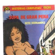 BDs: EL VIBORA SOPA DE GRAN PENA BETO HERNANDEZ N,20. Lote 222342075