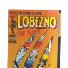 Tebeos: LOBEZNO N,45 MARVEL COMICS TOP SECRET. Lote 222444931