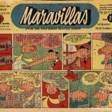 Giornalini: MARAVILLAS-268 (26-10-1944) BIBLIOTECA DE FLECHAS Y PELAYOS. Lote 222497503
