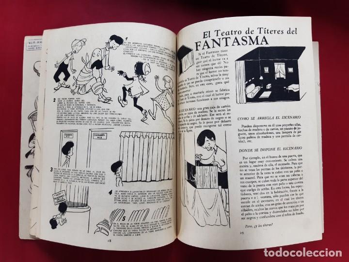 Tebeos: LA FAMILIA MINIATURA -EN EL CASTILLO ENCANTADO-EDITORIAL ABRIL-1951 - Foto 2 - 222872615