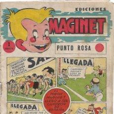 Tebeos: MAGINET PUNTO ROSA, ORIGINAL BUEN ESTADO-- LEER DESCRIPCION Y VER FOTOS. Lote 222911337