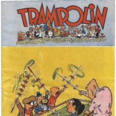 Tebeos: TRAMPOLIN Nº 49, ORIGINAL 1950 MUY BUEN ESTADO-- LEER DESCRIPCION Y VER FOTOS. Lote 222911800
