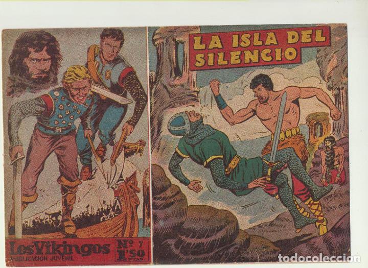 LOS VIKINGOS Nº 7. MATEU 1959 (Tebeos y Comics - Tebeos Otras Editoriales Clásicas)