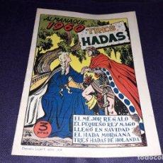 Tebeos: ALMANAQUE TRES HADAS 1960 INDESI ( MUY DIFICIL ). Lote 225323680