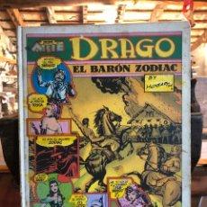 Tebeos: DRAGO - EL BARÓN ZODIAC - BURNE HOGARTH - COLECCIÓN NOVENO ARTE - PALA, S.A. 1973.. Lote 226241310