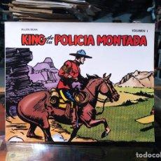 Tebeos: KING DE LA POLICIA MONTADA: VOLUMEN 1 - ALLEN DEAN - EDICIONES B.O. Lote 226372055