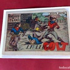 Tebeos: RANCHEROS DE TEXAS - Nº 7 ORIGINAL - ED. SORIANO EXCELENTE ESTADO / PICO CORTADO. Lote 226613345
