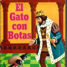 Tebeos: EL GATO CON BOTAS - SUSAETA 1968, COLECCION CUENTO-COLOR Nº 3 - DIFICIL. Lote 226792875