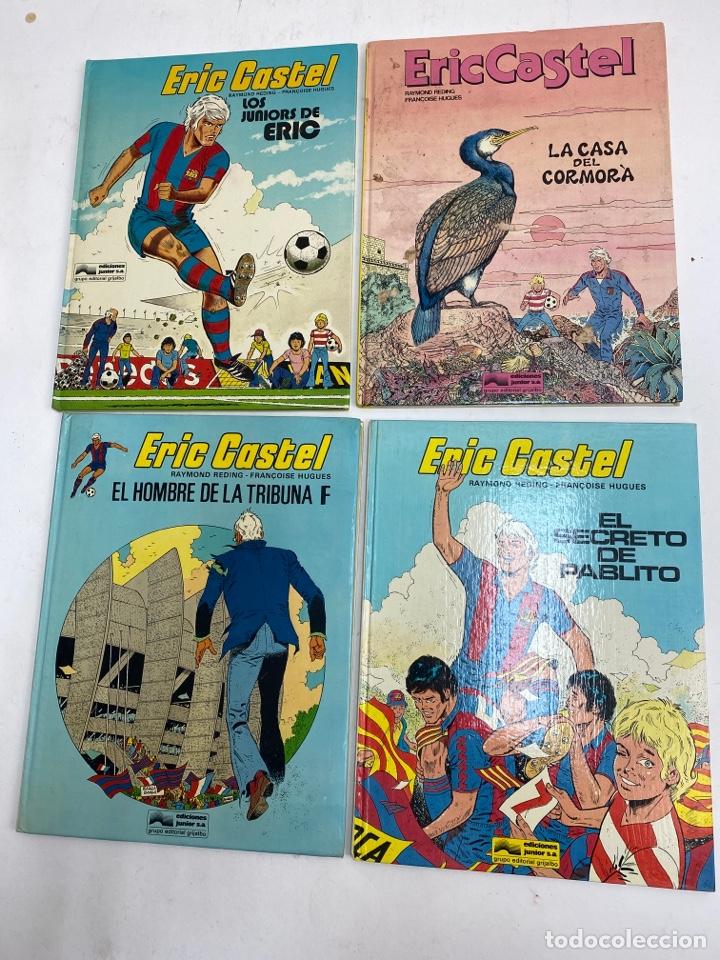 L-5796. LOTE DE 4 COMICS. ERIC CASTEL, RAYMOND REDING,FRANÇOISE HUGUES.. (Tebeos y Comics - Tebeos Otras Editoriales Clásicas)