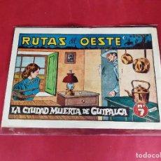 Tebeos: RUTAS DEL OESTE Nº 7 EDICIONES SORIANO-ORIGINAL-EXCELENTE ESTADO. Lote 226864205