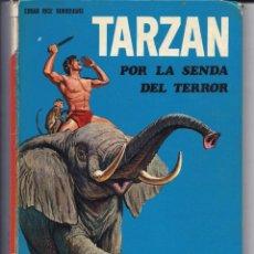 Tebeos: TARZAN POR LA SENDA DEL TERROR - EDGAR RICE BURROUGHS - EDICIONES LAIDA. 1970. Lote 228331930