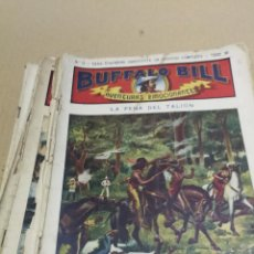 Giornalini: BUFFALO BILL ,AVENTURAS EMOCIONANTES - 15 COMICS - ED SOPENA - AÑOS 1910-20. Lote 228408240