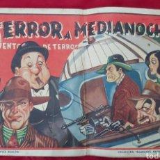 Tebeos: TEBEO TERROR A MEDIANOCHE. NUM.28. AÑO 1944. EDICIONES RIALTO. COLECCIÓN DIAMANTE NEGRO. Lote 228588020