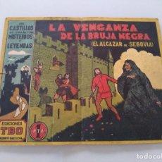 Livros de Banda Desenhada: ANTIGUO TBO LA VENGANZA DE LA BRUJA NEGRA. ED. TBO DE SALÓ 1928. Lote 229804205