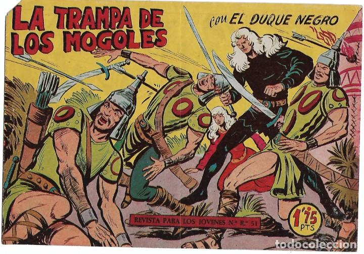 EL DUQUE NEGRO Nº 40, ORIGINAL BUEN ESTADO-IMPORTANTE LEER (Tebeos y Comics - Tebeos Otras Editoriales Clásicas)