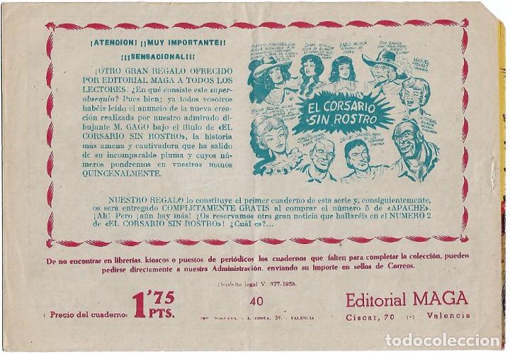 Tebeos: EL DUQUE NEGRO Nº 40, ORIGINAL BUEN ESTADO-IMPORTANTE LEER - Foto 2 - 230903230
