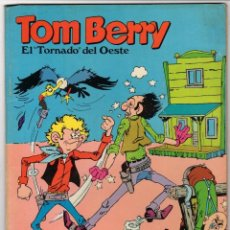 Tebeos: TOM BERRY EL TORNADO DEL OESTE. ENSALADA DE TIROS. Nº 2. EUREDIT, 1969. Lote 231337340