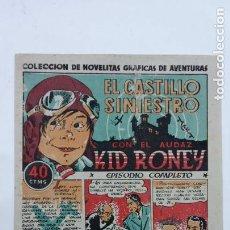 Tebeos: KID RONEY ORIGINAL Nº 1 - AÑO 1941, NUEVO EN UN PLIEGO SIN CORTAR - SDAD.GRAL. ESPAÑOLA DE LIBRERIAS. Lote 231597550