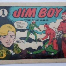 Tebeos: JIM BOY Nº 1 ORIGINAL - EDI. VALOR 1956 , DIBUJO ANTONIO CORREA. Lote 231600070