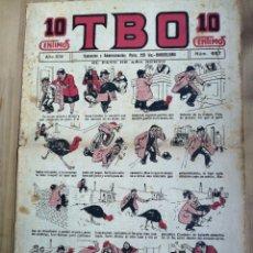 Tebeos: TBO N° 657,AÑO XIV (1930) ,10 CENTIMOS. Lote 232581123