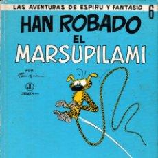 Tebeos: ESPIRU Y FANTASIO : HAN ROBADO EL MARSUPILAMI (JAIMES, 1968). Lote 233274705