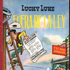 Tebeos: LUCKY LUKE : FUERA DE LA LEY (TORAY, 1969) LOMO DE TELA. Lote 233275280