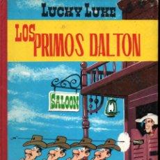 Tebeos: LUCKY LUKE : LOS PRIMOS DALTON (TORAY, 1969) LOMO DE TELA. Lote 233275600