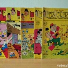 Tebeos: LOTE 004 DE TEBEOS AÑOS 70 DE EDITORIAL EUREDIT INFANTIL/JUVENIL. Lote 233924725