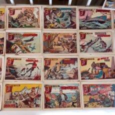 Tebeos: HOMBRES EN GUERRA ORIGINALES , EDI. SORIANO 1957 , 21 NºS ENTRE 1 Y 25, VER LISTADO. Lote 234018170