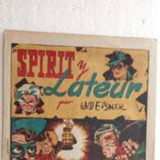 Tebeos: SPIRIT Y LATEUR ORIGINAL Nº 1 - WILLEISNER - 1948 IBERO AMERICANAS, NUEVO SIN ABRIR. Lote 234473920