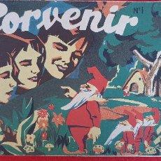 Tebeos: LOTE DE PORVENIR 1937 REVISTA INFANTIL GUERRA CIVIL LEER DESCRIPCION ORIGINALES. Lote 234668990