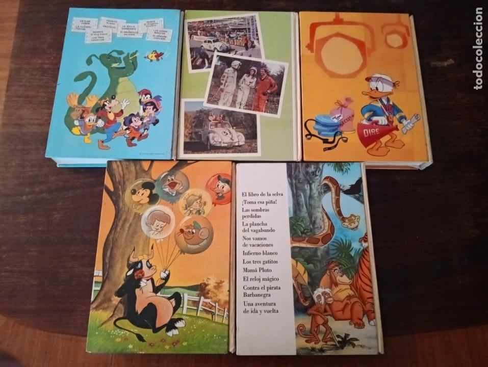Tebeos: 5 tomos tebeos cómics Películas Disney Jovial - Foto 2 - 234716930