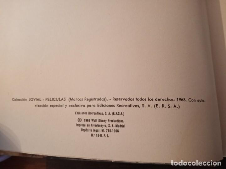 Tebeos: 5 tomos tebeos cómics Películas Disney Jovial - Foto 9 - 234716930