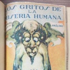 Tebeos: LOS GRITOS DE LA MISERIA HUMANA GUERRI ENCUADERNADA 26 NUMEROS. Lote 234726965