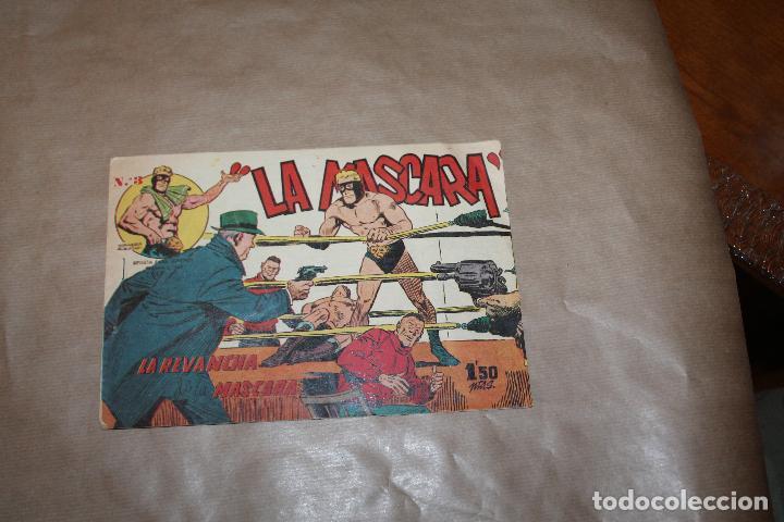 JIM DALE LA MÁSCARA Nº 3, EDITORIAL CREO (Tebeos y Comics - Tebeos Otras Editoriales Clásicas)