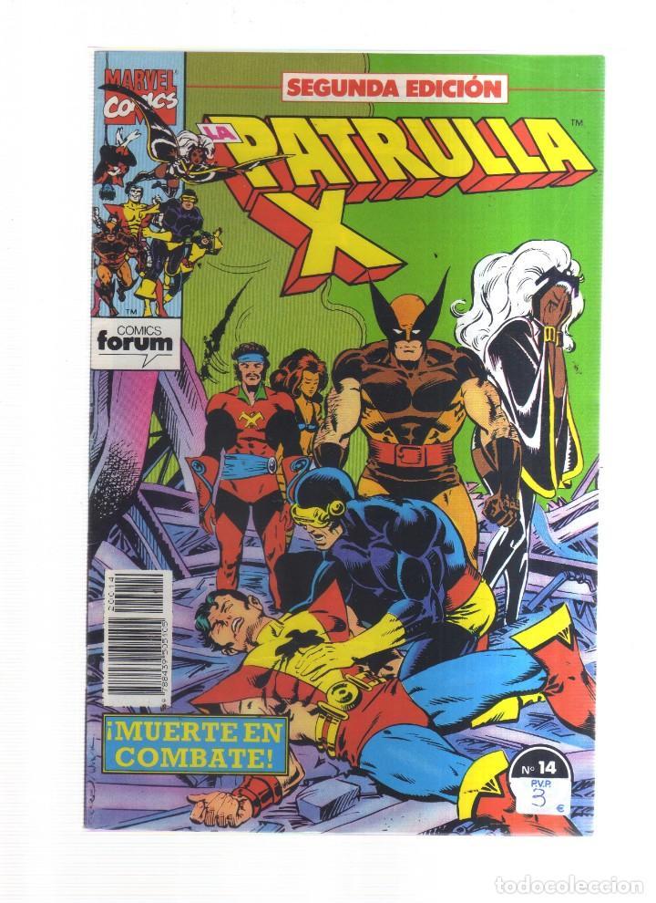 PATRULLA X N,14 SEGUNDA EDICION (Tebeos y Comics - Tebeos Otras Editoriales Clásicas)