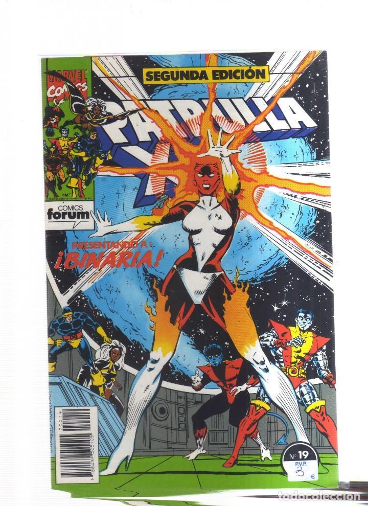 PATRULLA X N,19 SEGUNDA EDICION (Tebeos y Comics - Tebeos Otras Editoriales Clásicas)