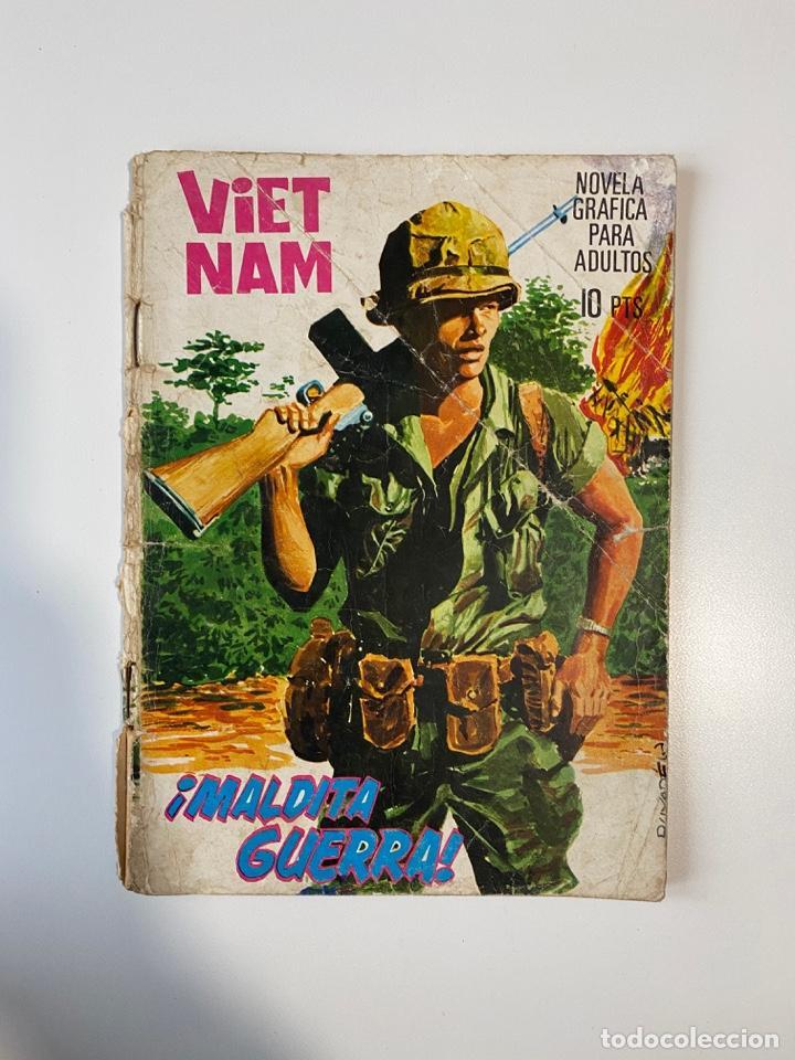 VIETNAM. ¡MALDITA GUERRA! NOVELA GRAFICA PARA ADULTOS. EDICIONES BARGADA. (Tebeos y Comics - Tebeos Otras Editoriales Clásicas)
