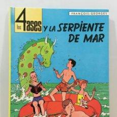 Tebeos: CÓMIC DE FRANÇOIS - GEORGES - LOS 4 ASES Y LA SERPIENTE DE MAR. EDIT. OIKOS-TAU, 2ª ED. 1969. Lote 235842815