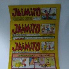 Tebeos: 3 TEBEOS DE JAIMITO NÚMEROS 878, 879, 937 .. Lote 236263120