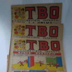 Tebeos: 3 TEBEOS DE TBO NUMEROS 672 699 707. Lote 236263415