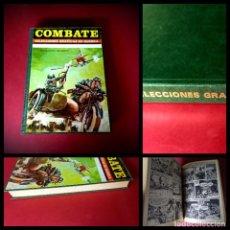 Tebeos: COMBATE SELECCIONES GRAFICAS DE GUERRA TOMO 1972 - EXCELENTE ESTADO. Lote 236744890