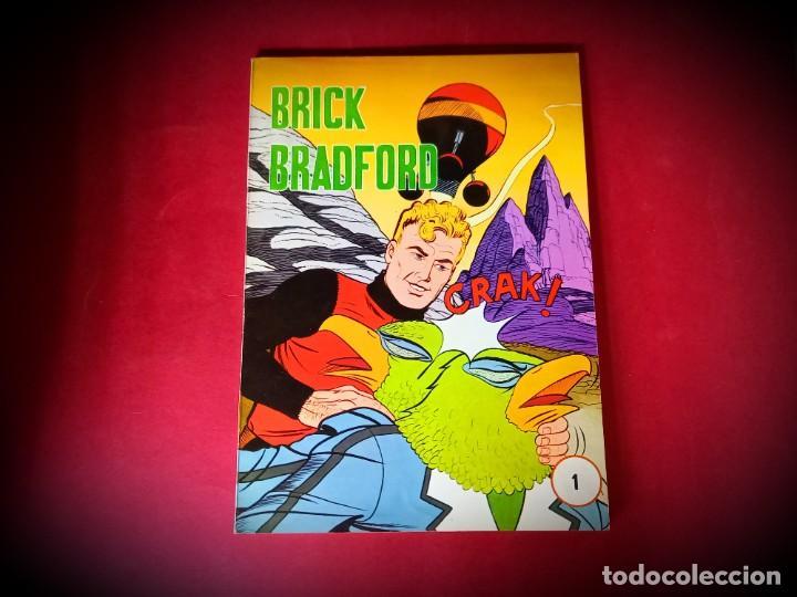 BRICK BRADFORD. Nº 1. EDICIONES MAISAL. 1976- IMPECABLE ESTADO (Tebeos y Comics - Tebeos Otras Editoriales Clásicas)