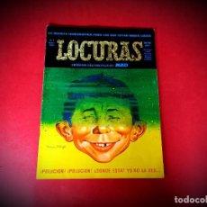 Tebeos: LOCURAS Nº 1 -EUREDIT 1975 MAD ESPAÑA - EXCELENTE ESTADO-VER FOTOS. Lote 236945475
