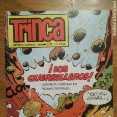 Tebeos: CÓMIC LA TRINCA, NÚM.27, 1 DICIEMBRE 1971. Lote 236990760