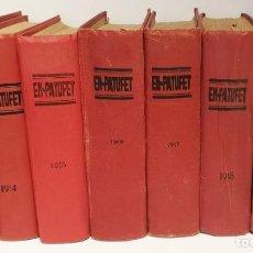 Livros de Banda Desenhada: COLECCION EN PATUFET 1912-1914-1915-1916-1917-1918-1919. Lote 238276300