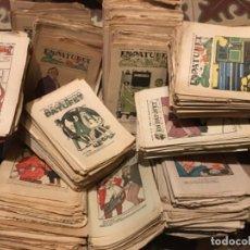 Livros de Banda Desenhada: LOTE 499 NUMEROS REVISTA PATUFET AÑOS 1916 A 1938. Lote 239580540